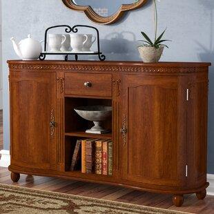Astoria Grand Alvey 2 Door 1 Drawer Accent Cabinet