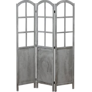 Whole House Worlds Romantic 3 Panel Room Divider