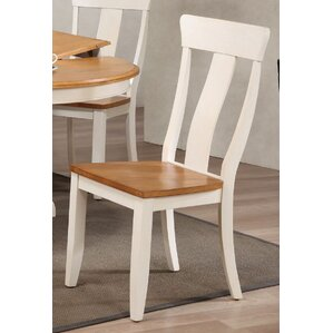 Solid Wood Dining Chair (Set of 2) by Ico..