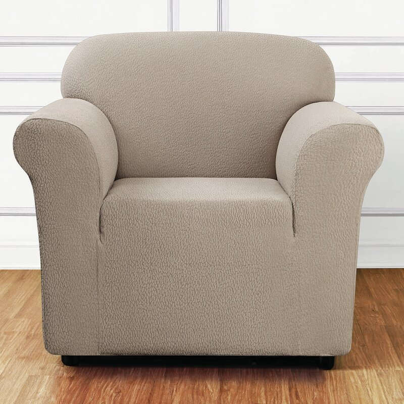 Sure Fit Side Box Cushion Armchair Slipcover Reviews Wayfair