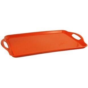 orange decorative trays you ll love wayfair