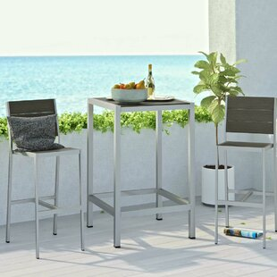 Orren Ellis Coline 3 Piece Bar Dining Set
