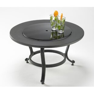 Patio Table With Lazy Susan Wayfair