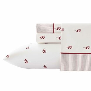 Spinnaker 200 Thread Count Striped 100% Cotton Sheet Set by Nautica Comparison