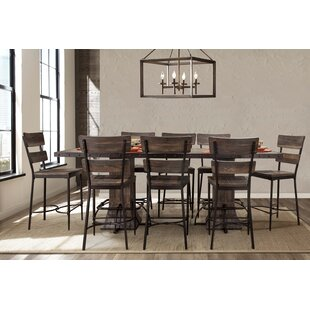 Cathie 9 Piece Counter Height Dining Set Gracie Oaks