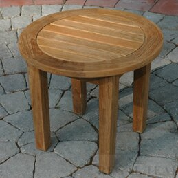 Regal Teak Side Table