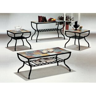 Hull 3 Piece Coffee Table Set