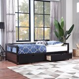 Amsi Twin Daybed with Trundle by Red Barrel Studio®