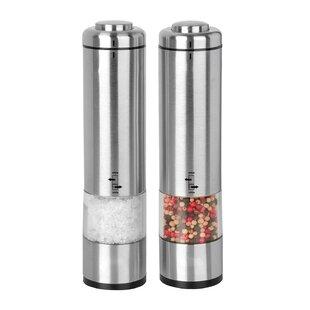 Metal Salt Pepper Shakers Mills Up To 20 Off Until 11 20 Wayfair Wayfair