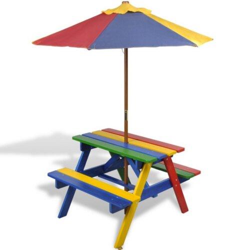 2-tlg. Kinder Picknicktisch und Bank-Set Freeport Park   Baumarkt > Camping und Zubehör > Weiteres-Campingzubehör   Freeport Park
