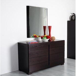 Brayden Studio Failand 8 Drawer Double Dresser