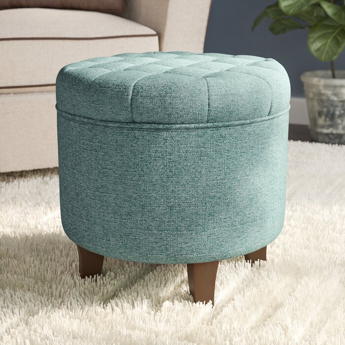 Enjoyable Poston Tufted Storage Ottoman Gmtry Best Dining Table And Chair Ideas Images Gmtryco