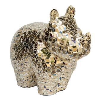 World Menagerie Saunderstown Golden Sculpture Wayfair