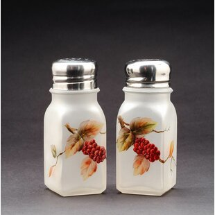 Mulberry Glass Salt and Pepper Shaker Set