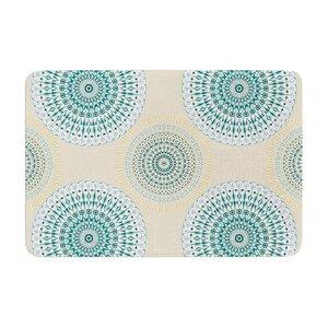Soft Mandalas by Julia Grifol Memory Foam Bath Mat