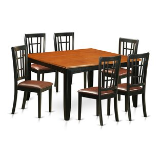 Pilning 7 Piece Extendable Dining Set by August Grove Modernt