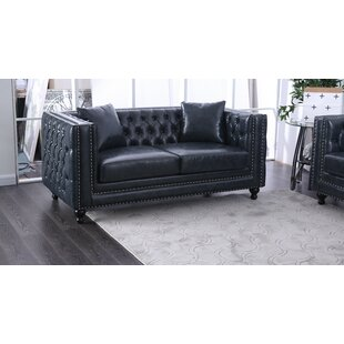 Azuela Chesterfield Loveseat