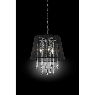 Willa Arlo Interiors Aadi Ceiling 3-Light Pendant