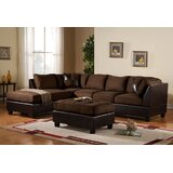 Georgetown 103 Reversible Sectional with Ottoman by Red Barrel Studio®
