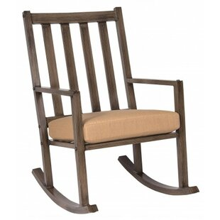 Woodlands Large Rocking Chair with Cushions Woodard