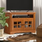 Glastonbury Solid Wood Corner TV Stand for TVs up to 50 by Loon Peak®