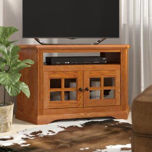 Glastonbury Solid Wood Corner TV Stand for TVs up to 50