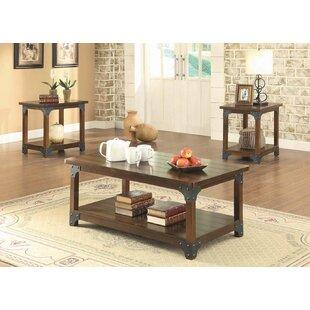 Emery 3 Piece Coffee Table Set