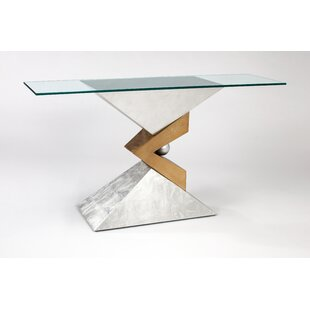Artmax Glass Console Table