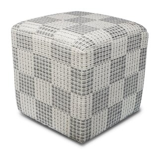 Raemoore Cube Ottoman by Latitude Run