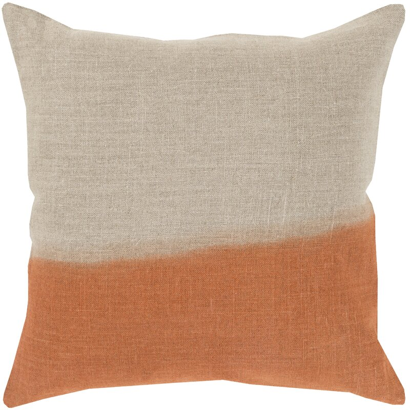 Byromville Linen Throw Pillow