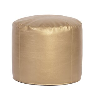 Ashworth Shimmer Pouf by Everly Quinn