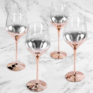 Romantic Wine Glasses Wayfair