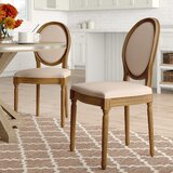 Hogansville Round Upholstered Dining Chair (Set of 2) by Three Posts