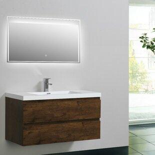 Reviews Lina 42 Single Bathroom Vanity Set ByOrren Ellis