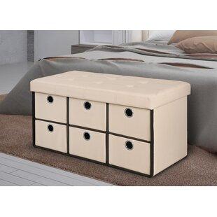 Rebrilliant 6 Drawer Storage Bench