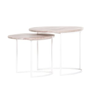 Darcelle 2 Piece Nest Of Tables By Norden Home