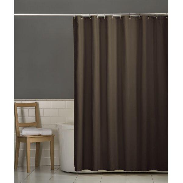 Charlton Home Rawles Microfiber Fabric Single Shower Curtain Reviews Wayfair