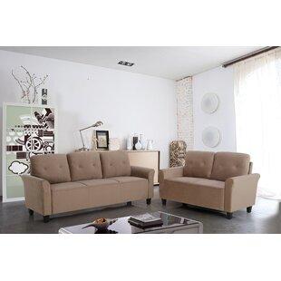 Glasser 2 Piece Living Room Set by Charlton Home