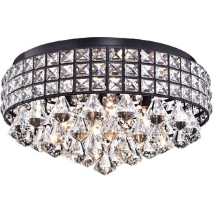 Wolfforth 4-Light Flush Mount