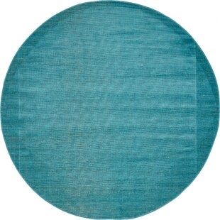 Squire Teal Area Rug by Zipcode Design