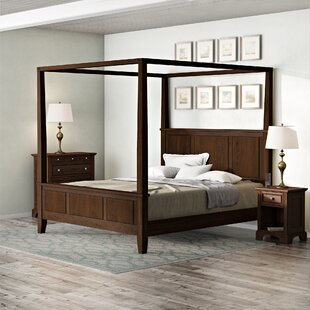 Borden Canopy 3 Piece Bedroom Set by Three Posts Today Only Sale