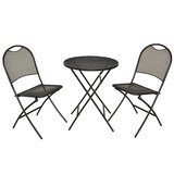 Gyala Cafe Napoli 3 Piece Bistro Set