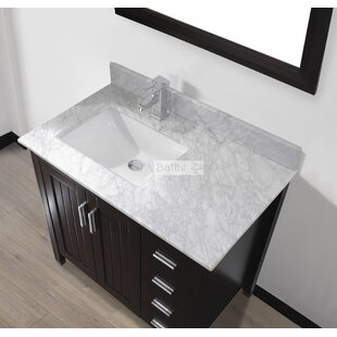 Jacchi 36 Single Bathroom Vanity Set with Mirror by Bauhaus Bath
