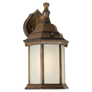 Best Louisa 1-Light Outdoor Wall Lantern By Charlton Home