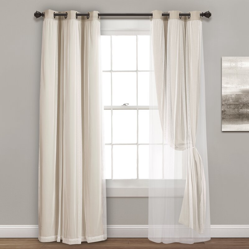 Busselton Blackout Thermal Grommet Curtain Panels