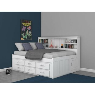 Castiel Bed with Drawers and Bookcase