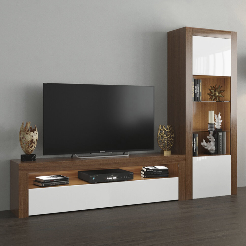 Orren Ellis Earle Entertainment Center for TVs up to 65 inches