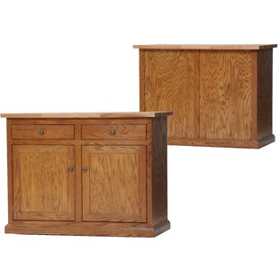 Remi Kitchen Cart with Butcher Block by Longshore Tides