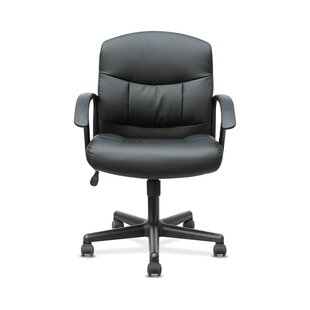Mark Genuine Leather Task Chair by Symple Stuff Best Choices