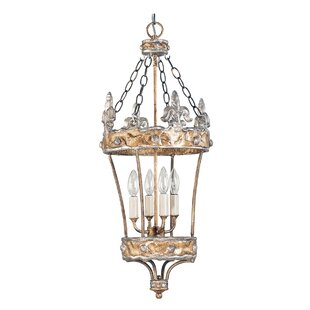 Bamford 4 Light Outdoor Hanging Lantern By Astoria Grand